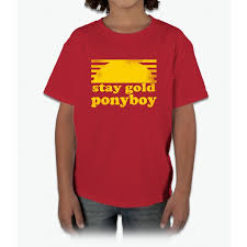 stay gold ponyboy outsiders movie book bee movie young shirt