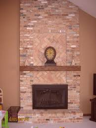 fireplace mantels with stone