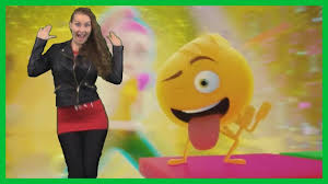 happy dance emoji do the emoji pop dance emoji movie youtube
