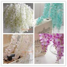 wedding arches square online shop 80pcs artificial silk wisteria flower for diy wedding