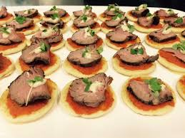 bellini canape catering gourmet canapes gold coast
