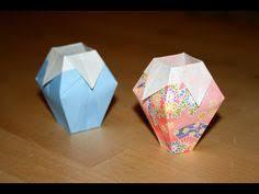Simple Origami Vase - origami dove origami
