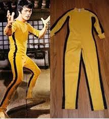 bruce yellow jumpsuit original bruce costume bruce yellow jumpsuit for