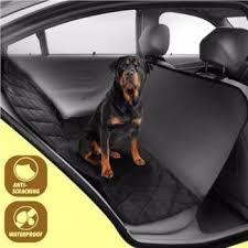 cat dog car back seat cover waterproof pet hammock protector bl