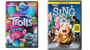trolls and sing dvds as low as 10 regular 29 98