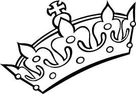 Crown Coloring Pages Netart Princess Crown Coloring Page Free Coloring Sheets