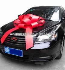car bow ribbon large christmas tree decoration ribbon magnetic car bow buy