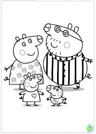 peppa pig coloring page enjoy coloring art projects less tv