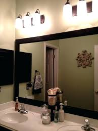 Large Framed Bathroom Mirror Framed Bathroom Vanity Mirrors Akapello