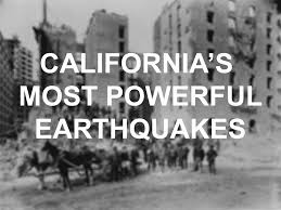 Usgs Earthquake Map California Earthquake Warning Issued For Southern California Sfgate