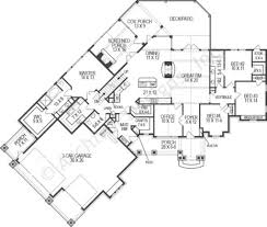 chestatee river rustic house plan mountain house plan