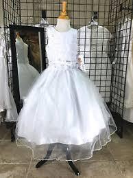christie helene communion dress christie helene uf3188 communion dress flower girl wedding size 8