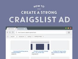 how to make a strong craigslist ad storedge