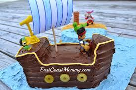 east coast mommy jake neverland pirates cake
