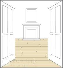 direction to lay your wooden floor