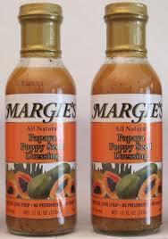 2 bottles of papaya poppy seed vinaigrette dressing www