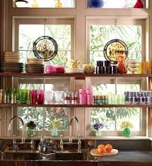 open kitchen shelves decorating ideas kitchen shelves and stationary window decorating ideas everything