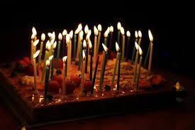 candle birthday cake 100 images time lapse burning birthday