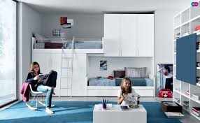 Loft Style Bunk Bed Practical And Functional  Loft Bed Design - Loft style bunk beds