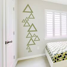 trending wall decor with geometric shapes wallums com wall decor
