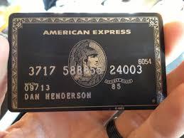 Centurion Card Invitation Black Power Daniel Henderson