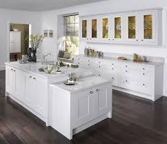 Oak Kitchen Cabinets Kitchen Captivating White Painted Oak Kitchen Cabinets White