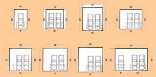 garage dimensions standard 442 car garage door dimensions 442 car garage sizes