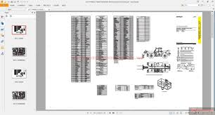 cat th460b u0026 th560b telehandler electrical system schematic auto