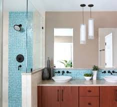 6 tiled rooms that take things beautifully beyond backsplash