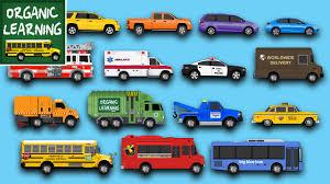 learning street vehicles for children learn cars trucks fire