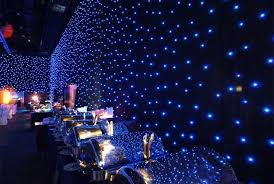 black drape events star drop show led curtains u0026 drape rental