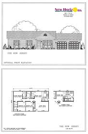 Ranch Floor Plans Model Homes U0026 Floor Plans Marion Il New Horizons Homes Inc
