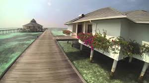 water bungalow sun island resort u0026 spa maldives youtube