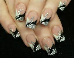 best 25 red and silver nails ideas on pinterest christmas