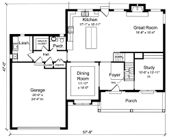 kitchen great room floor plans all plans