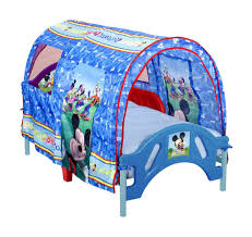 cute design ideas of kids tent for bed with pink color engaging