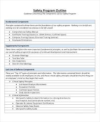 8 program outline examples u0026 samples