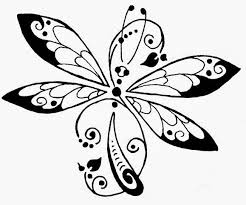 printable dragonfly stencils whimsical dragonfly tattoo tattoo pinterest my vinyls