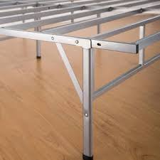 foldable platform bed furniture revolution folding metal platform bed frame in size twin