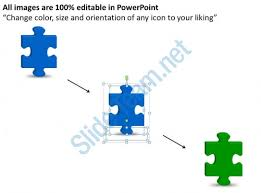 business powerpoint templates interlocking ideas missing puzzle