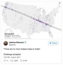 Eclipse Maps The Race To Create The Most Ridiculous Eclipse Map Is On Sfgate