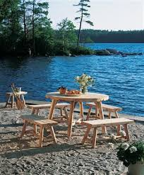 cedar outdoor furniture from walpole woodworkers
