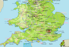Map Of The United Kingdom Royaume Uni