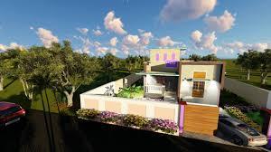 Single Floor House by Single Floor House Design Animation Part 1 Youtube