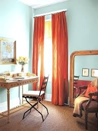 aqua and orange curtains best orange kitchen curtains ideas on