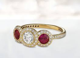 gemstone rings for art deco style this holiday season ritani