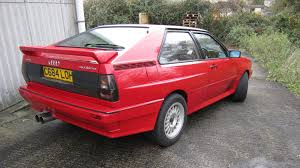 first audi quattro 1985 audi ur quattro youtube