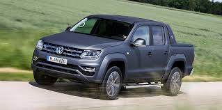 blue volkswagen volkswagen amarok ultimate v6 gets matte paint option