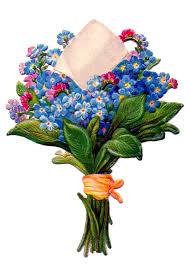 floral bouquet free vintage images 2 versions the graphics fairy