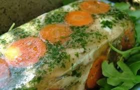comment cuisiner du lapin poulet en gelee aux carottes et asperges et lapin en gelee de cidre